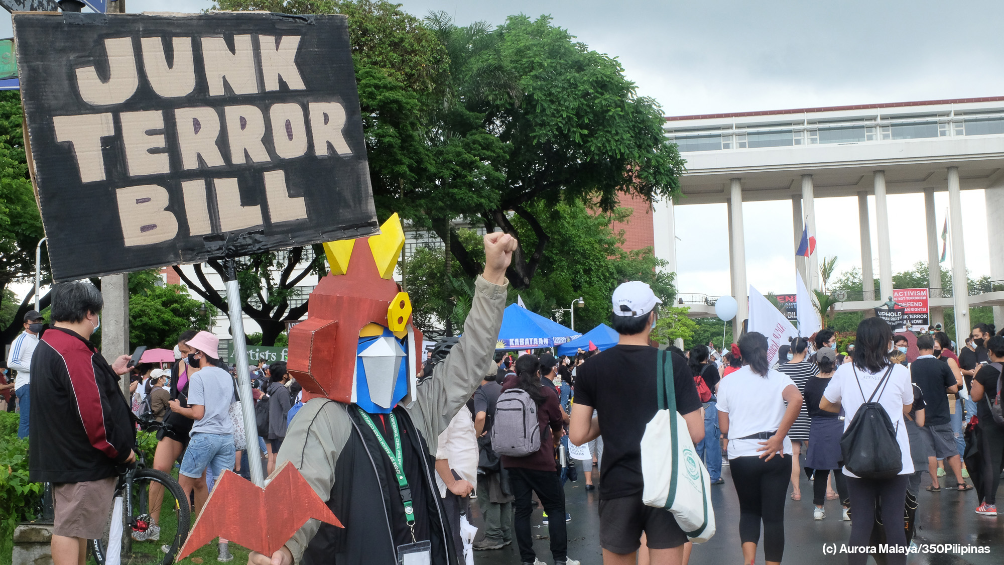 Call to Action   world.350.org   Stand with Filipino Environmental Defenders against the Terror Law!